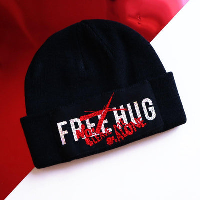 No Freehug Beaine hat - tamaishidesign