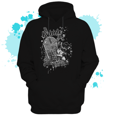 Bubble tea Hoodie - tamaishidesign