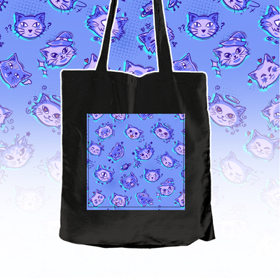 Cute Kittens - Textile bag - tamaishidesign