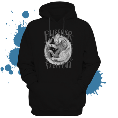 Purrrrrfection Hoodie - tamaishidesign