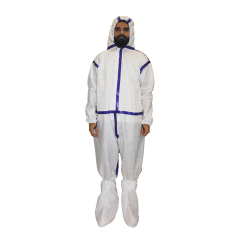 PPE White Coverall  CR#PPE-07