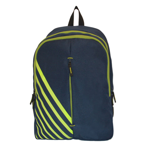600D Blue Polyester Backpack