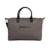 Grey-Black Travel Bag