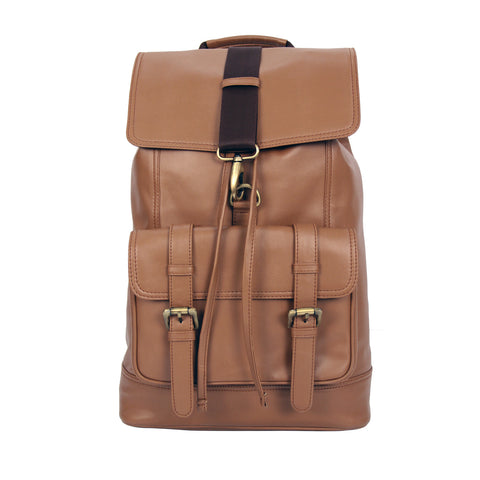 Alfred Faux Leather Backpack