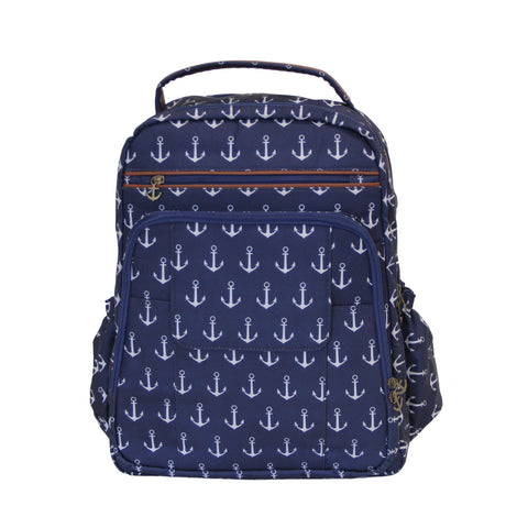 Anchor Print Backpack