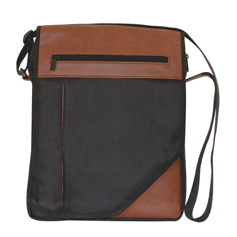 Black & Brown Side Sling