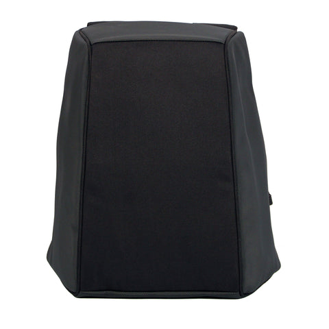 Black Concrete Backpack