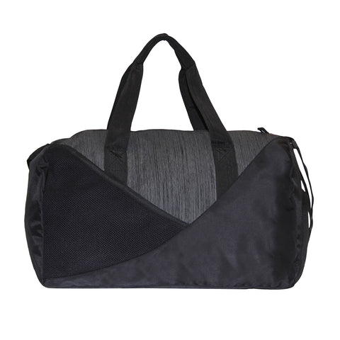 Black & Grey Gym Duffle