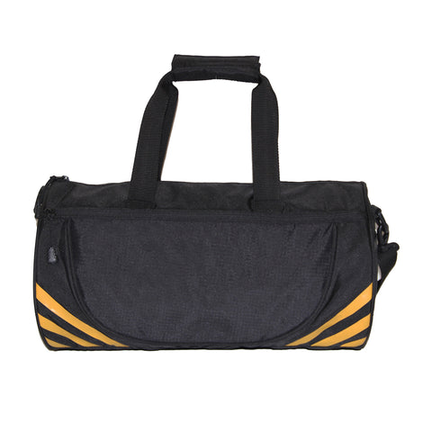 Black Round Gym Duffle