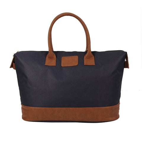 Blue-Brown Travel Bag