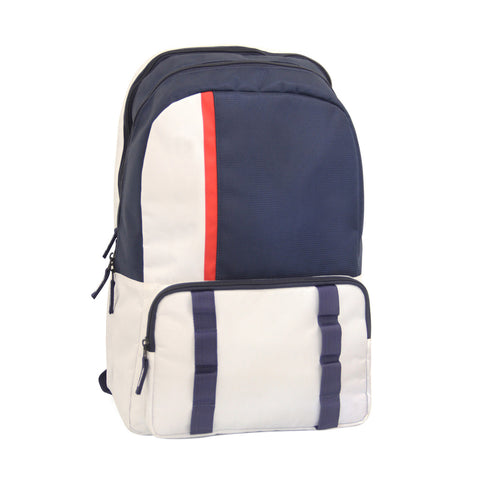 Blue - White everyday backpack