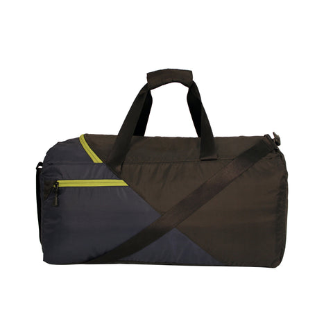 Blue & Black Travel Duffle