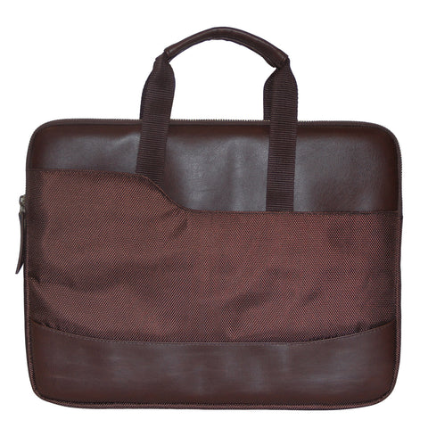 Brown Classic Messenger Bag