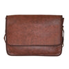 Brown Crossbody Messenger