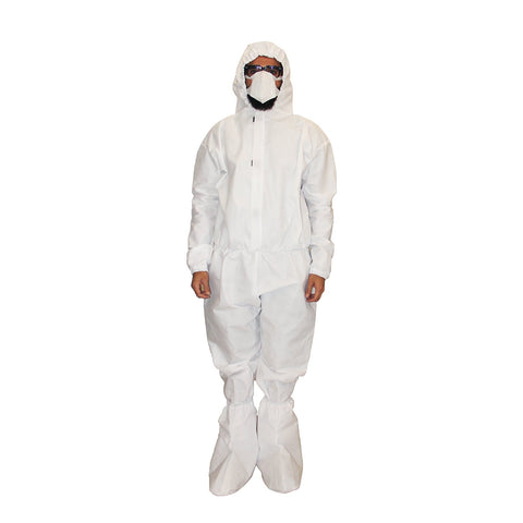 PPE White Coverall  CR#PPE-02