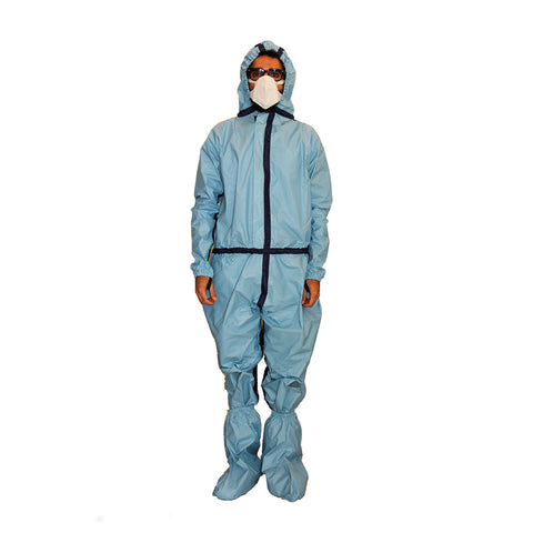 PPE Blue Coverall CR#PPE-05