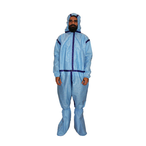 PPE Blue Coverall CR#PPE-06