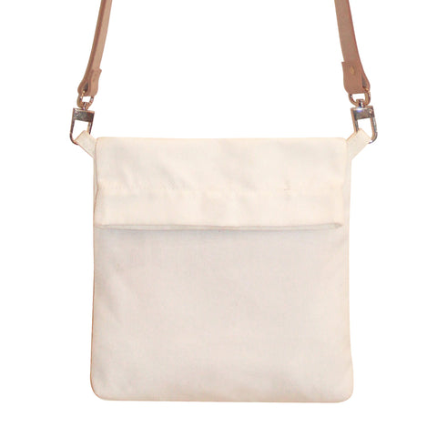 Canvas Side Sling Bag