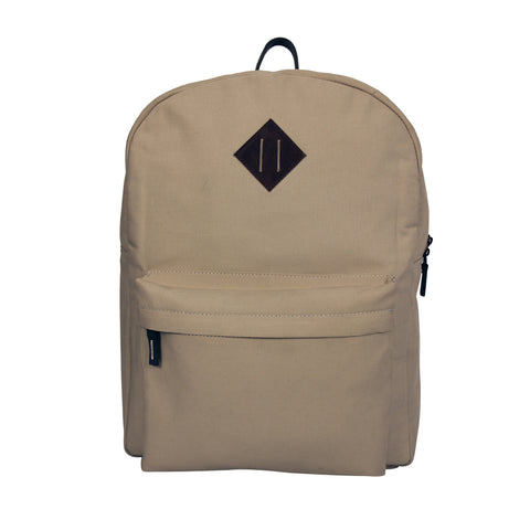 Off-White Canvas Backpack