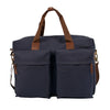 Canvas Blue Weekender Bag