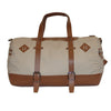 Canvas & Leather Duffle Bag-2