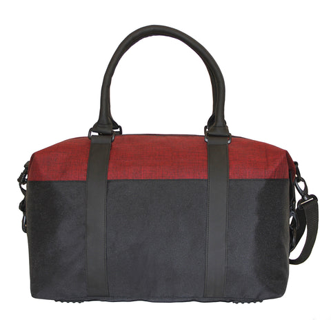 Colorblock Polyester Duffle