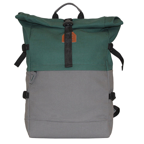 Dual Color Canvas Backpack