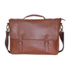 Elegant Faux leather Messenger