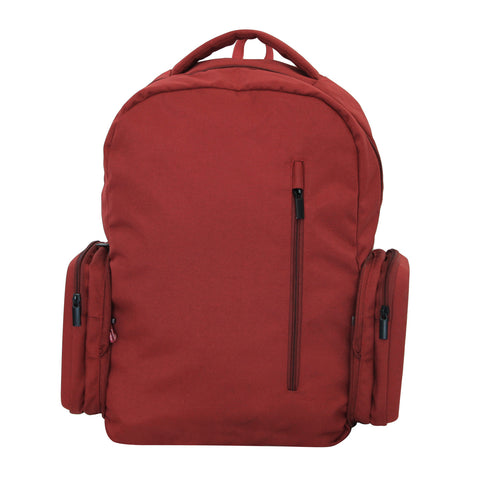 Maroon Foldable Backpack