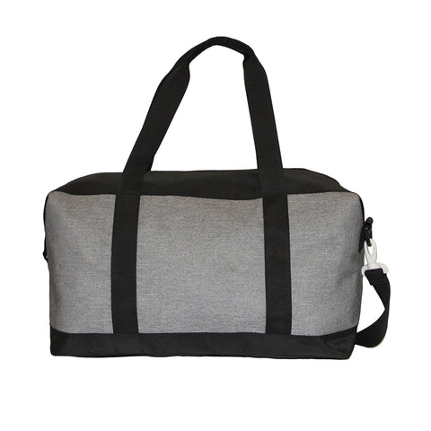 Grey Polyester Duffle