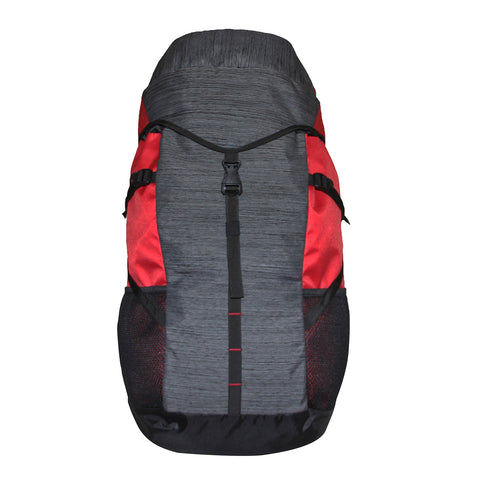 45 Ltrs Grey & Red Rucksack