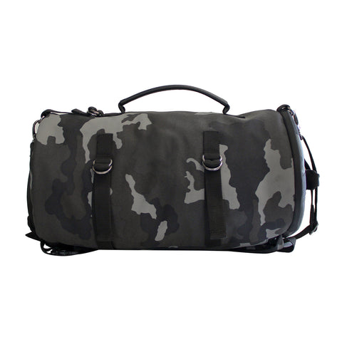 Camo Duffle-Backpack