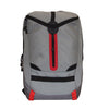 Grey & Red Backpack