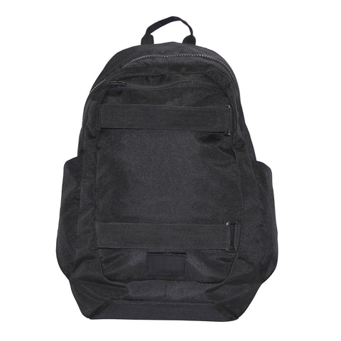 Jet Black Casual Backpack