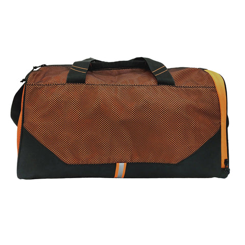Orange & Black Gym Bag
