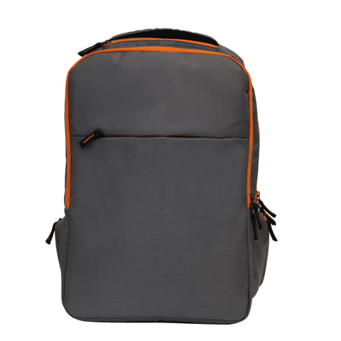 Unisex Grey Backpack-2