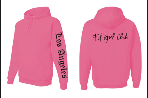 Los Angeles Fit Girl Club Hoodie