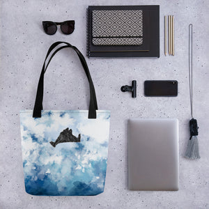 Blue WaterColors Tote bag