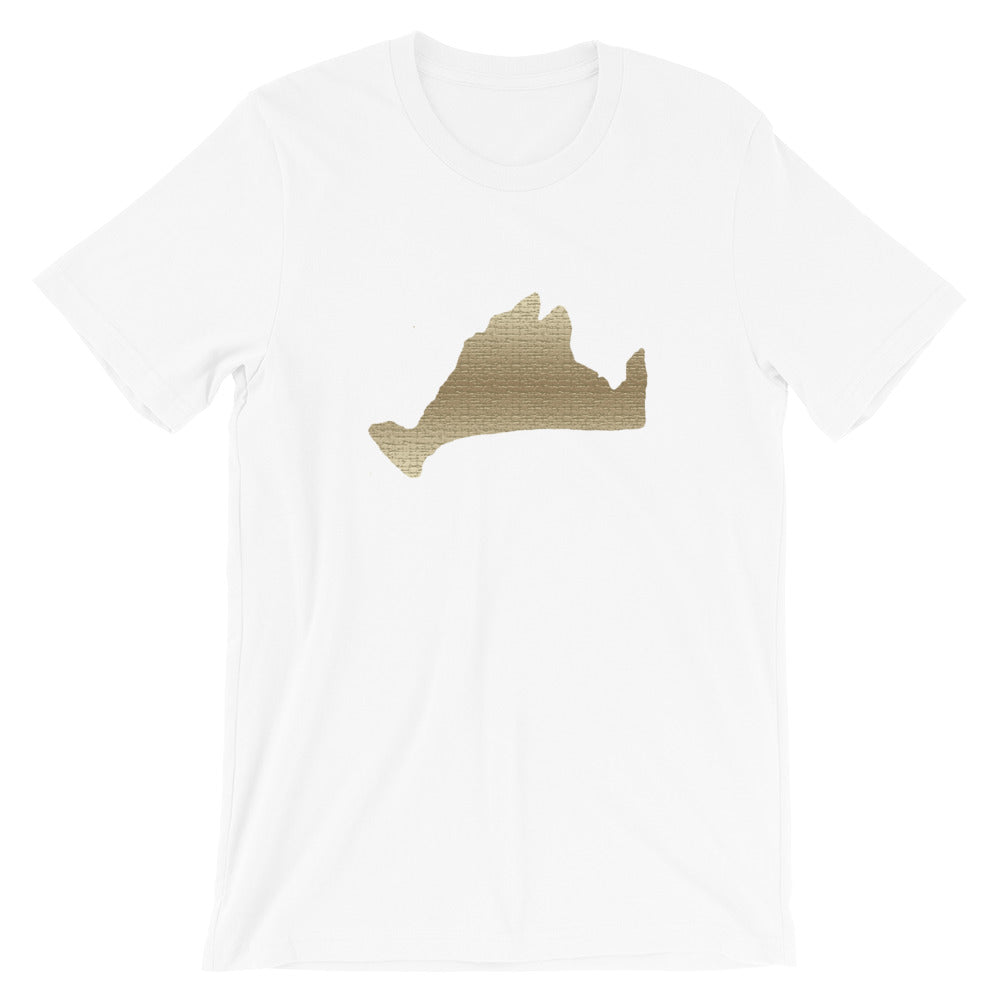 Limited Edition Short Sleeve Tee Shirt-Golden