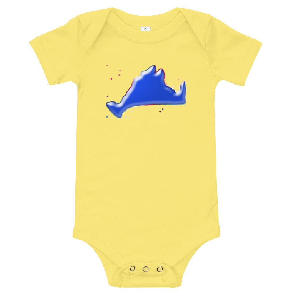 Short Sleeve Onesie-Blue Skies