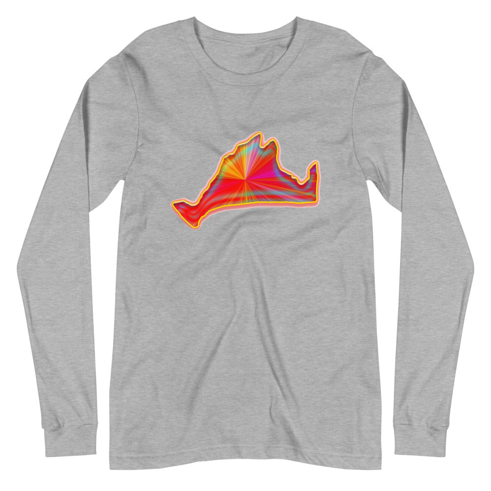 Long Sleeve Tee-Golden Sunburst