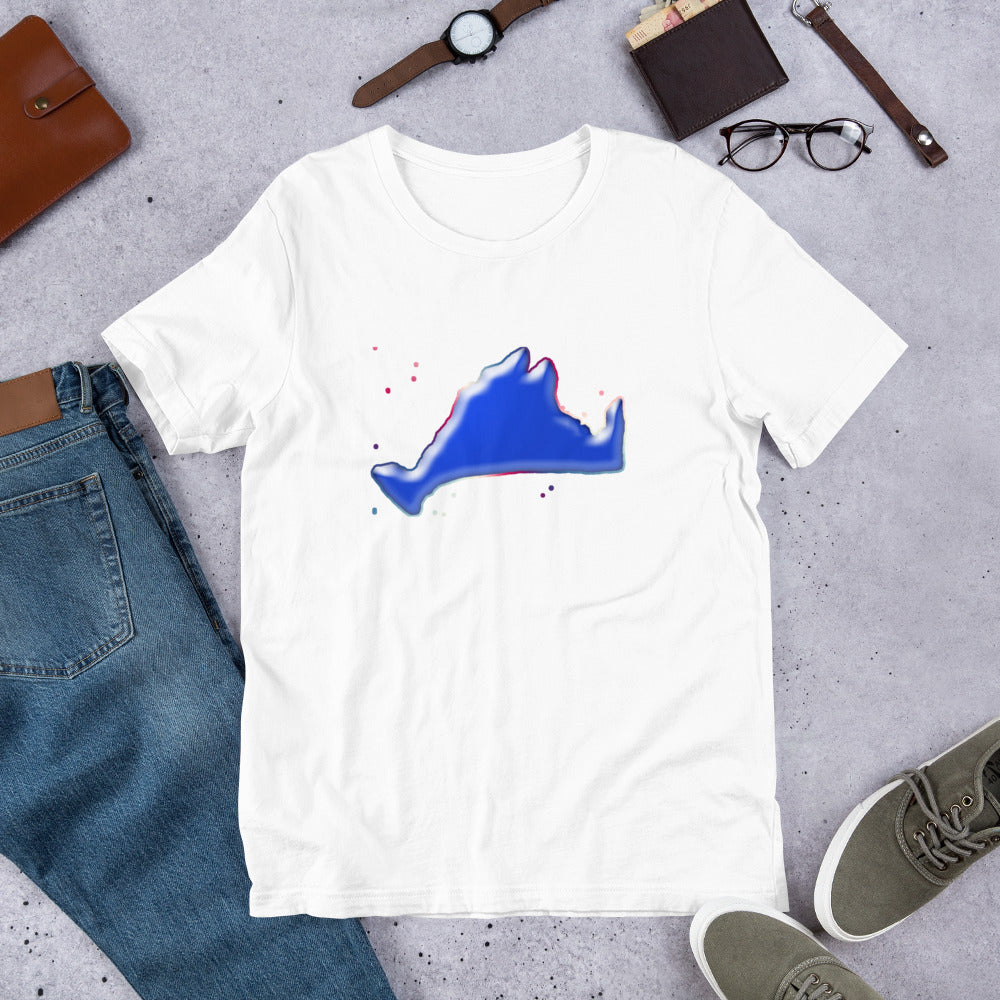 Short Sleeve Tee Shirt-Blue Skies