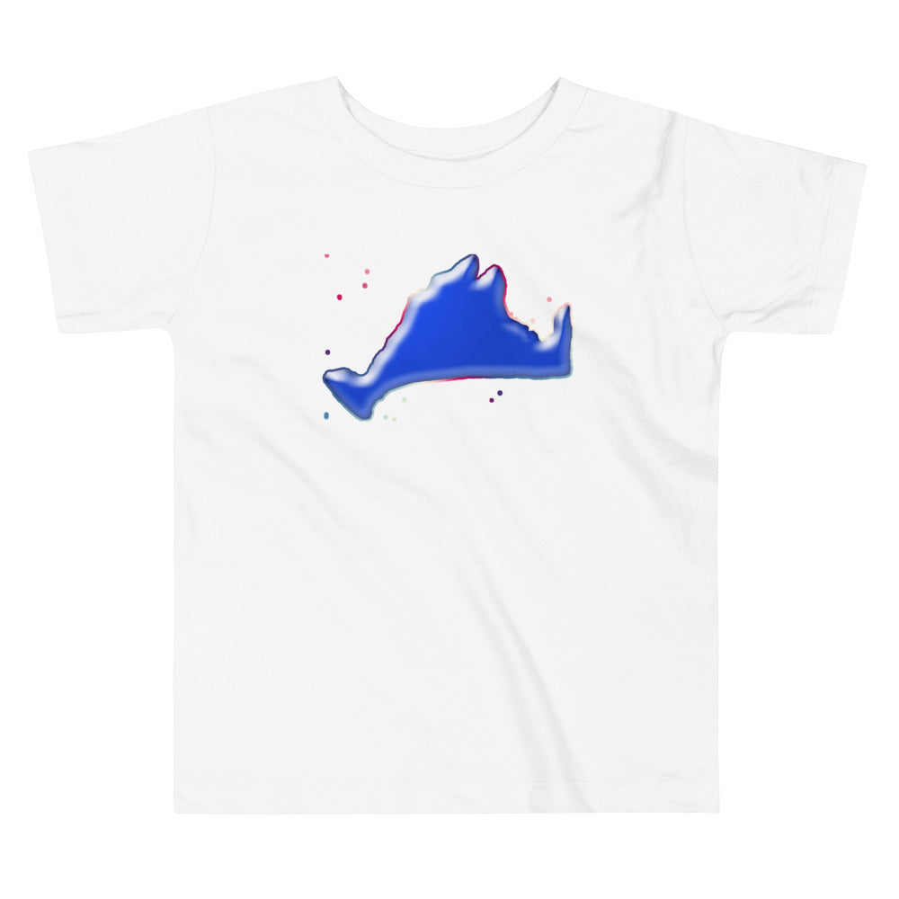 Toddler Short Sleeve Tee Shirt-Blue Skies