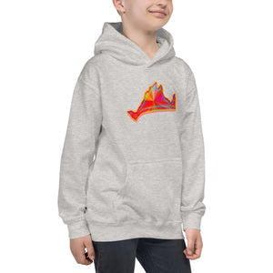 Kids Hoodie Sweatshirt-Golden Sunburst-First Edition 2019