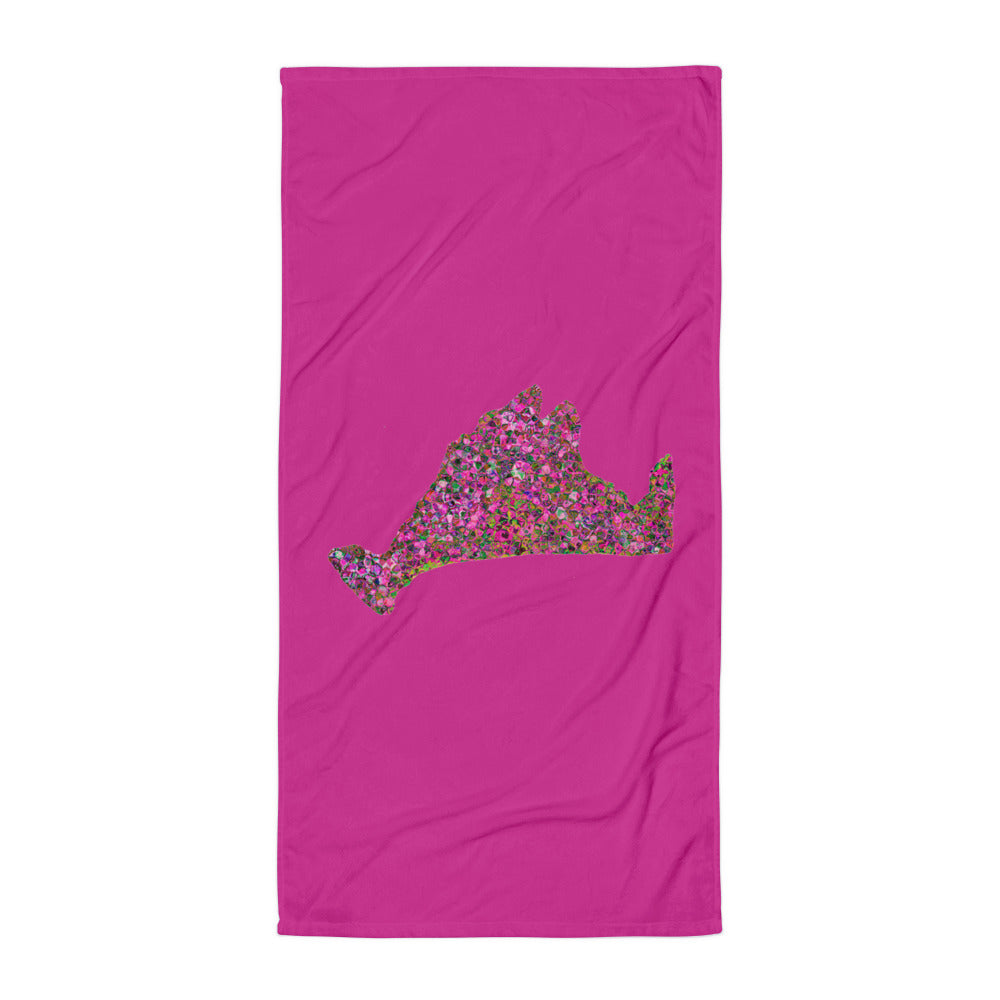 Limited Edition Towel-Kaleidoscope Pink