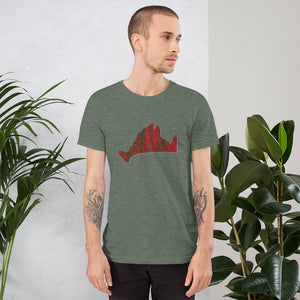 Short Sleeve Tee Shirt-Scarlett Green