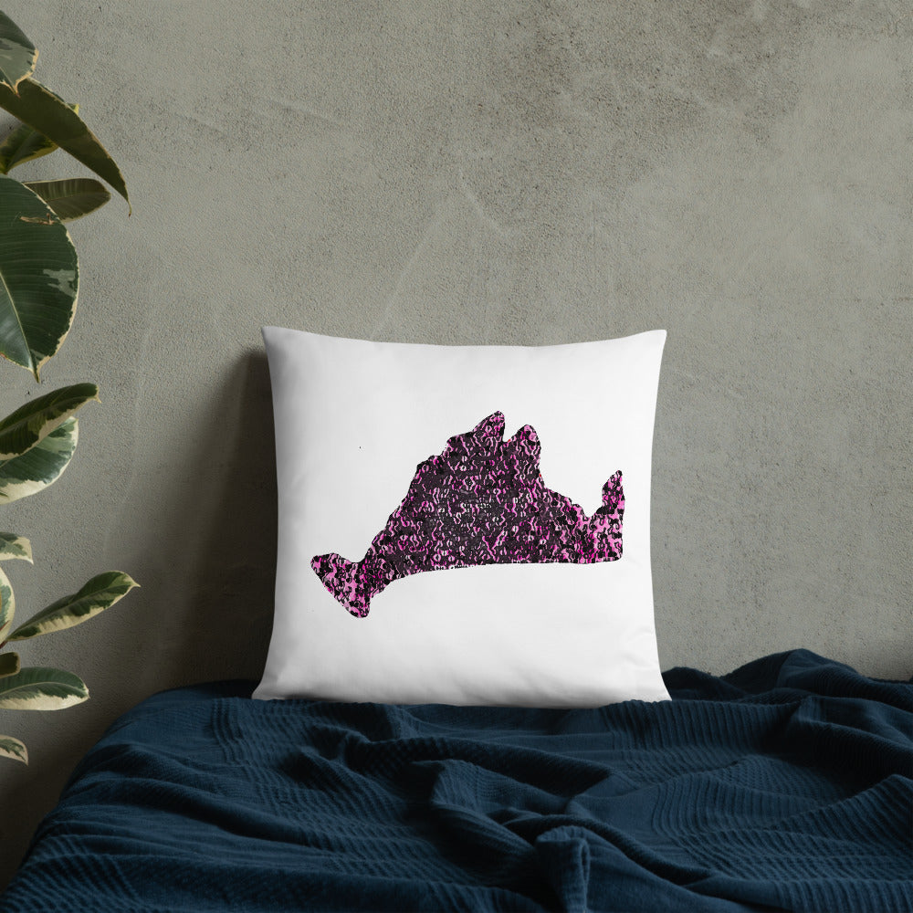 Limited Edition Pillow-Pink Noir