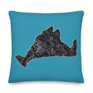Premium Pillow-Onyx Swirl