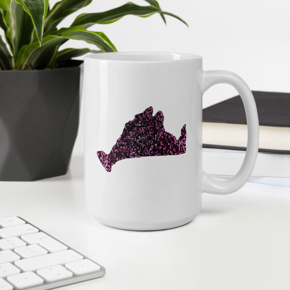 Limited Edition Mug-Pink Noir