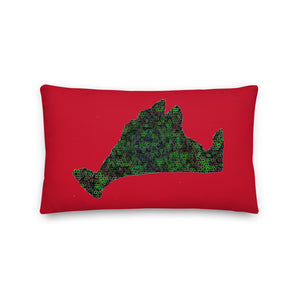 Premium Pillow-Kaleidoscope Green